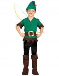 Disfraz ladrón de los bosques niño