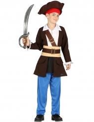 Disfraz capitán de piratas niño