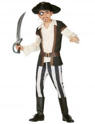 Disfraz pirata rayado para niño