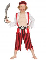 Disfraz pirata musculoso niño