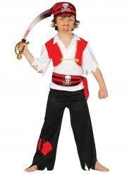 Disfraz capitán pirata niño