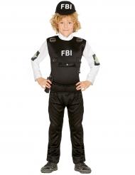 Disfraz policía FBI niño