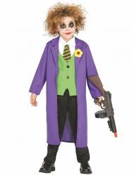 Disfraz payaso Joker para niño