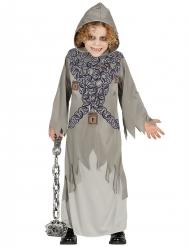 Disfraz fantasma encadenado gris niño Halloween