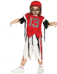 Disfraz futbolista americano zombie niño Halloween
