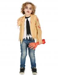 Disfraz zombie sin brazos niño
