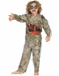 Disfraz zombie momificado niño Halloween