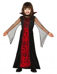 Disfraz condesa de las tinieblas niña Halloween