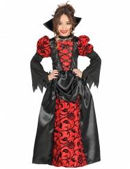 Disfraz noble condesa vampiro niña Halloween