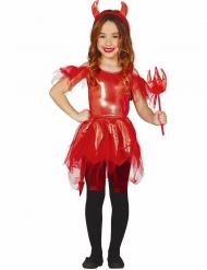 Disfraz diablesa niña Halloween