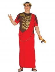 Disfraz centurión rojo hombre