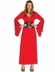 Disfraz reina roja mujer