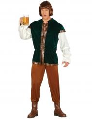 Disfraz tabernero verde adulto