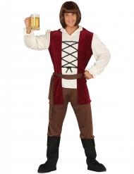 Disfraz tabernero medieval hombre