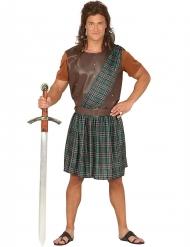 Disfraz escocés verde para hombre