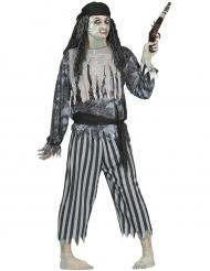 Disfraz pirata fantasma hombre Halloween