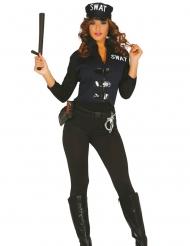 Disfraz sexy SWAT mujer