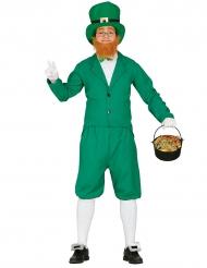 Disfraz Leprechaun verde hombre