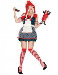 Disfraz muñeca de trapo mujer