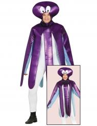 Disfraz pulpo violeta adulto