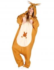Disfraz mono canguro adulto