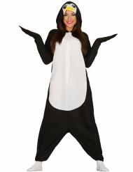 Disfraz mono pingüino adulto
