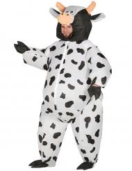 Disfraz maxi vaca inflable