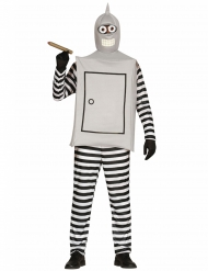 Disfraz robot adulto