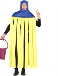 Disfraz humorístico fregona adulto