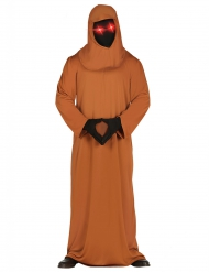 Disfraz monje tenebroso con ojos LED adulto