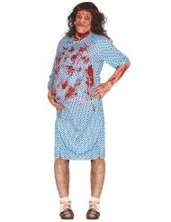 Disfraz zombie embarazada adulto Halloween