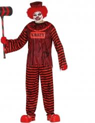 Disfraz payaso terrorífico adulto Halloween