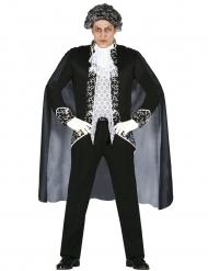 Disfraz fantasma barroco Halloween hombre