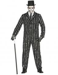 Traje Mr. Hueso Skeleton hombre