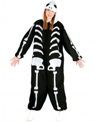 Disfraz mono esqueleto adulto Halloween