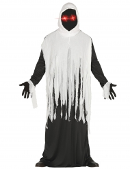 Disfraz fantasma con LED adulto Halloween