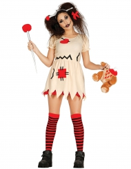 Disfraz muñeco vudú