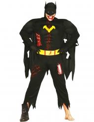 Disfraz zombie superhéroe de la noche adulto Halloween