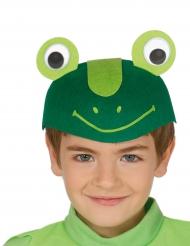 Gorra rana graciosa niño