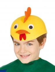 Gorro pollo divertido niño
