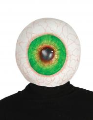 Máscara ojo gigante látex adulto