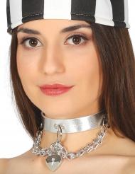 Collar prisionera sexy mujer