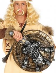 Escudo y espada esqueleto vikingo 57 cm