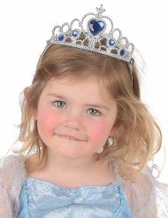 Diadema azul y plata niño