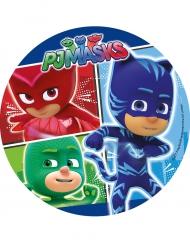 Disco de azúcar PJ Masks™ 21 cm aleatorio