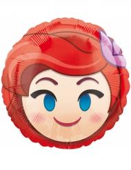 Globo aluminio redondo Ariel ™ Emoji™ 43 cm