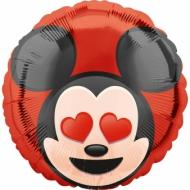 Globo aluminio Mickey Mouse™ Emoji™ 43 cm