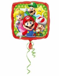Globo aluminio Mario Bros™ 43 x 43 cm