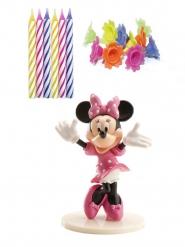 Kit decoración y velas de cumpleaños Minnie™