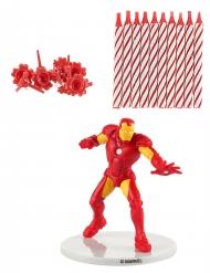 Kit velas de cumpleaños Iron Man™